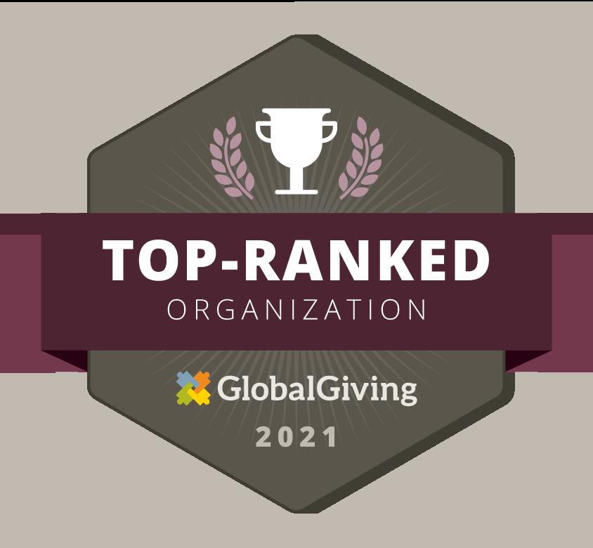 GlobalGiving Top-Ranked Organization 2021